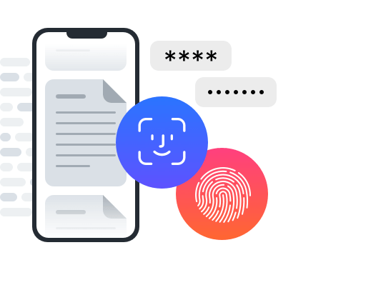 Docyt locks your data to your device