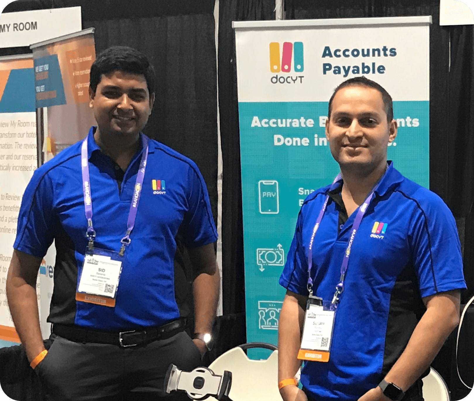 Sid Saxena and Sugam Pandey, Docyt Co-Founders